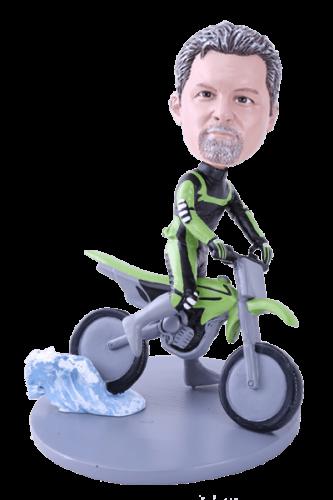 Figurine personnalisée motocross