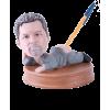 Figurine personnalisée porte stylo