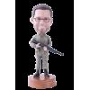 Figurine personnalisée chasseur