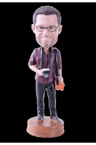 Figurine personnalisée photographe