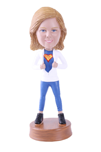 Figurine personnalisée super maman