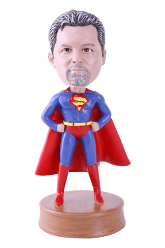 Figurine personnalisée superman