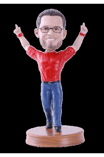 Figurine personnalisée homme