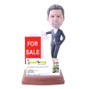 Figurine personnalisée agent immobilier