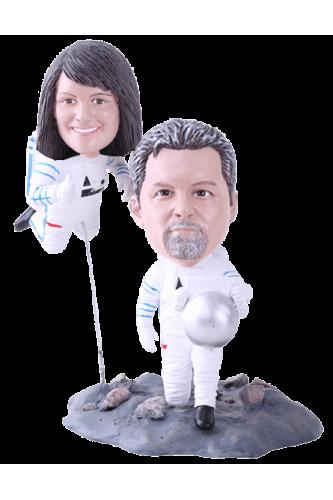 Figurine personnalisée astronaute