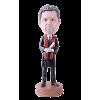 Figurine personnalisée diplômé