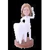Figurine personnalisée femme dentiste