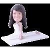 Figurine personnalisée gymnaste