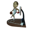 Figurine personnalisée action de jeu