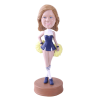 Figurine personnalisée pom-pom girl