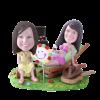 Figurine personnalisée maman fille