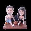 Figurine personnalisée sport en couple
