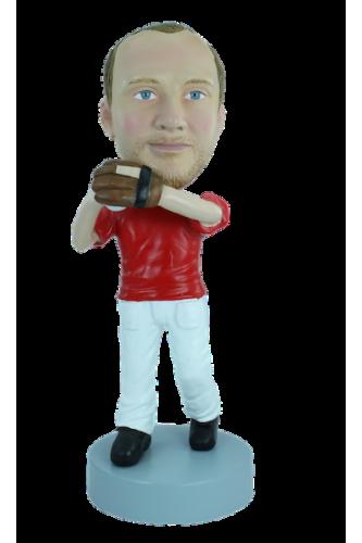 Figurine personnalisée Baseballeur