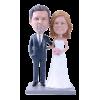 Figura de boda personalizable Paseo de otoño