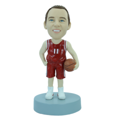 Personalizierte Figur Basketball-Spieler