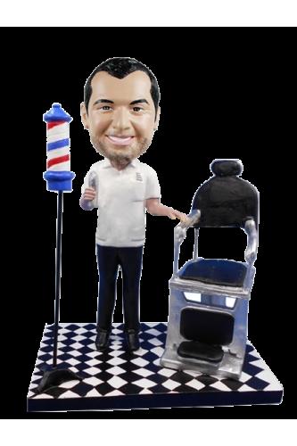 Figura personalizable barbero