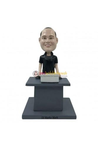 Figurine personnalisée pianiste DJ