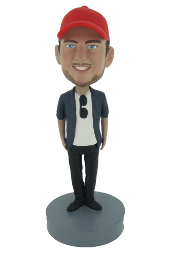 Personalized bobbleheads vacationer