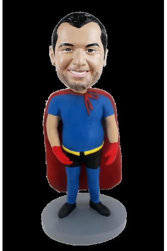 Figura personalizada superman de dieta