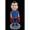Custom made bobblehead dieting superman