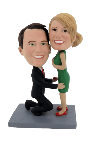 Custom bobbleheads would you marry me?