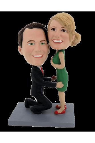 Figurine personnalisée veux tu mépouser?