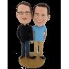 Personalisierten Figuren ein Paar maenner