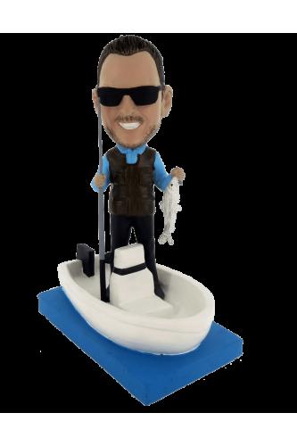 Figura personalizada pesca en barco