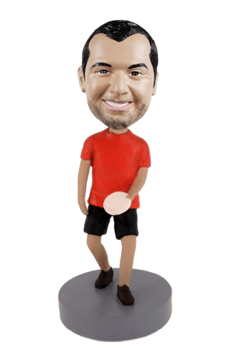 Custom bobblehead Frisbee