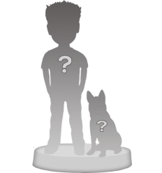Figurina personalizzata 1 persona (100%) + 1 Animale