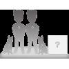 Figurine personnalisée à 100% de couple + 2 Animaux + Décors Taille XL