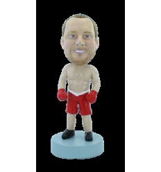 Custom bobblehead Boxer