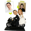 Figura boda personalizada (100%) + 1 moto