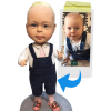 1 Person 100% customizable bobblehead