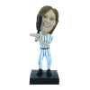 Custom bobblehead Woman baseball player