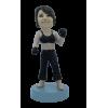 Custom bobblehead Woman boxer