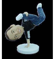 Personalizierte Figur Break dancer