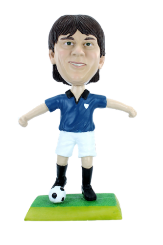 Figurine personnalisée footballeur