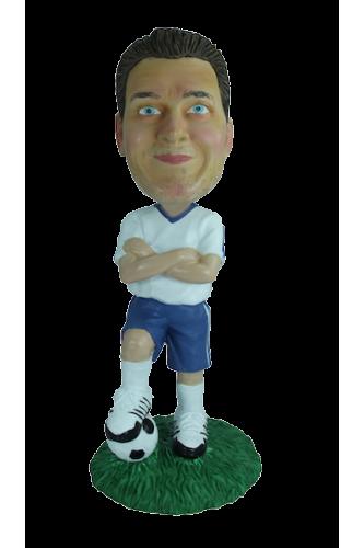 Custom bobblehead football captain