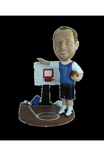 Figura personalizable Mi cancha de baloncesto