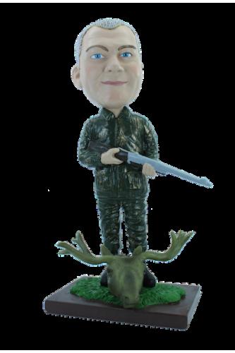 Figurine personnalisée en chasseur