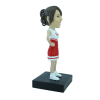 Figurine personnalisée cheerleader