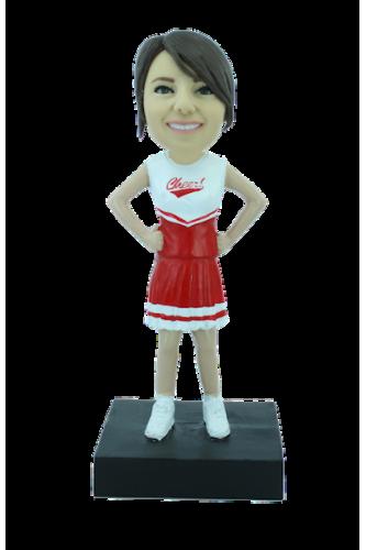 Custom bobblehead cheerleader