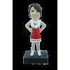 Figurine personnalisée en cheerleader