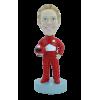 Figurine personnalisée en coureuse de formule 1