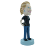 Figurine personnalisée fan de rugby
