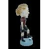 Figurine personnalisée femme arbitre de foot