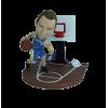 Figurine personnalisée de feinte de jeu