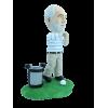 Figurine personnalisée en pro du golf