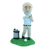 Figura personalizable Golfista profesional